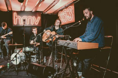 The Maccabees – in store session & signing at HMV 363 Oxford Street